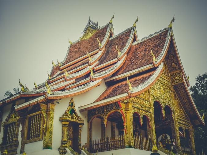 Beautiful temples of Laos